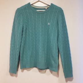 • Turkis sweater fra Jack Wills • Str M/UK 12  • Kun brugt et par gange • Nypris: 600,-  • Sender med DAO