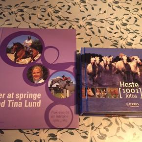 Lær at springe med Tina Lund - 50kr (ubrugt) Lille bog med 1001 heste billeder - 30kr