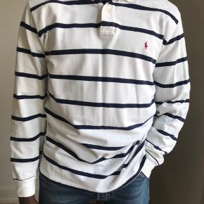 Long sleeve Ralph Lauren polo str large.