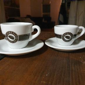 Cortado/espresso cups from Espresso House. Price is per cup - 1 for 25 DKK.