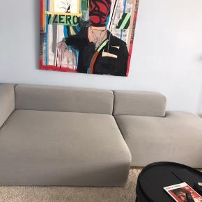 Sofa HAY, 2.76m long. Good condition but has marks on the back, as on picture. If sofa stands against the wall you can not see marks. Sofa is 5 years old. Pick up in Hellerup, fast price 3.500Dkk
