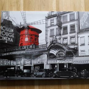 Toile Paris/Moulin rouge 60x40