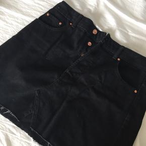 Bershka denim nederdel i str 40. Så fin og i perfekt stand🌸🌞
