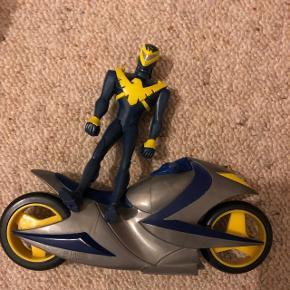 Batman og motorcykel