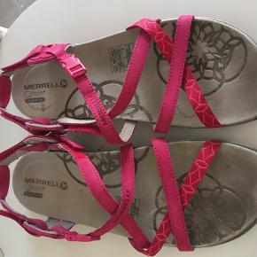 Merrell sandaler, super behagelige, brugt få gange