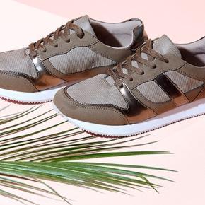 Super fine nye sneakers fra TChibo. Fri fragt i denne uge (uge 42) - BYD :-)