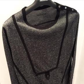 Zadig & Voltaire kjole i glimmer den er så smuk   størrelse: Small   pris: 400 kr   fragt: 37 kr