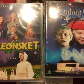 Sælger disse som vi allerede har .... så hjælp mig af med dem så vi kan købe nogle vi ikke har🤞🏼Juleønsket 100kr Ludvig og julemanden 70kr  Skal afhentes i Hundige