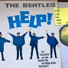 Beatles Help! Vinyl lp plade klassiker i fin stand Sendes gerne