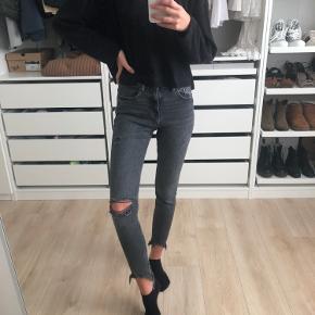 Fede jeans fra zara, brugt få gange  Størrelse 36 / S