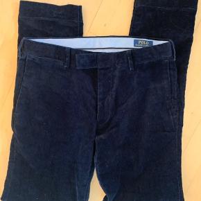Polo Ralph Lauren Velour bukser slim fit str. 30/34