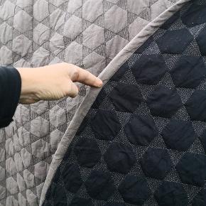 Super lækkert sengetæppe fra Hay /polygon. Str 220x260. Fremstår i fæn stand men skal måske lige have en fnugrulle... Men det er de kendte for. Pris pp