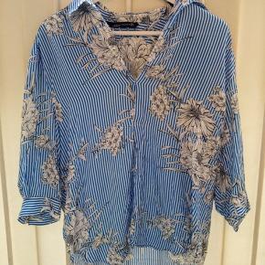 Den fineste sommerskjorte fra Zara in en str.  M  👗☀️