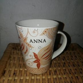 """Navnekop """"Anna"""". Aldrig brugt."""