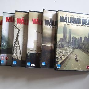 The Walking Dead sæson 1-6 på dvd sælges for 500kr. Fejler intet. Prisen kan forhandles.