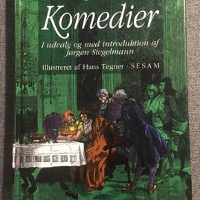 Holberg-komedier sælges. Den fremstår som ny - i alle andre komedier end Erasmus Montanus, hvor det er nogle blyantnoter