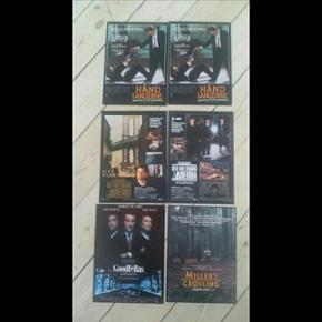 5 små originale filmplakater (Reklameblade som man kan hænge op eller åbne og læse om filmen) 21 x 29 cm Mulighed for at købe enkeltvis