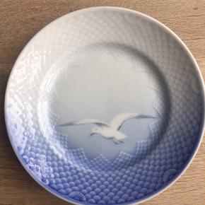 Mågetallerken fra Bing og Grøndahl, frokosttallerken, brugt med fin stand, ingen skår