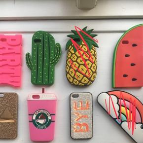 Diverse cases til iPhone 5 og 5s.Sælges samlet for 100 kr. og ellers så byd endelig enkeltvis 😊
