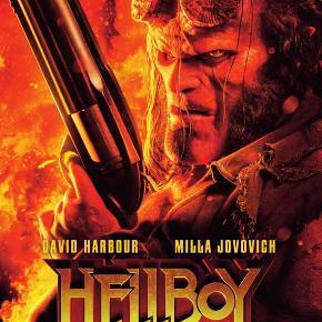 0563  Hellboy - 2019 - DVD - Dansk Tekst - I FOLIE   Fra tegneserie skaberen Mike Mignola kommer en ny, action fyldt fortælling om den dæmoniske antihelt Hellboy, der denne gang rejser til England for at bekæmpe en trio af raserende kæmper som forårsager store ødelæggelser. Her støder han på Nimue, The Blood Queen, en ældgammel heks, genopstået fra de døde og tørstig efter hævn.  I en kamp mellem det overnaturlige og mennesket, er Hellboy fast besluttet på at stoppe Nimue og redde verden fra undergang.