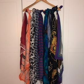 diverse tørklæder i forskellige farver. 20,- stykket