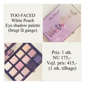 Brand: Too Faced Varetype: Eye shadow palette Farve: flere  Kun brugt få gange - pæn stand ☀️