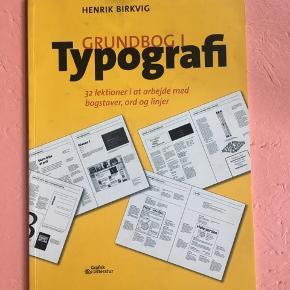 Grundbog i typografi af Henrik Birkvig.  Gratis - hentes på Frederiksberg