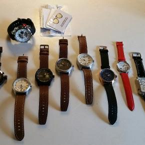 Stærk nedsat pris PGA afvikling  Mange dejlige urer fra min ursamling som skal sælges billigt med gode remme solidt læder dato tidszoner mv. Køb en eller flere eller alle urer