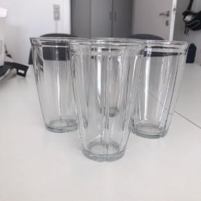 4 stk latte glas 48 cl Fejler intet Nypris 170,-