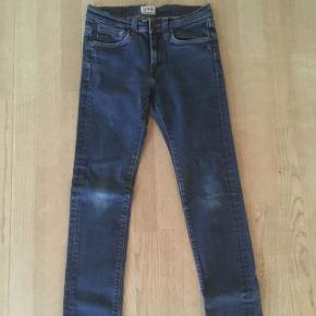 Lækre super slim herre jeans fra Edwin model ED-88 str. 28/32. Fra røgfrit hjem.