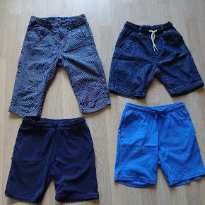4 par shorts fra hm. I meget pæn stand.