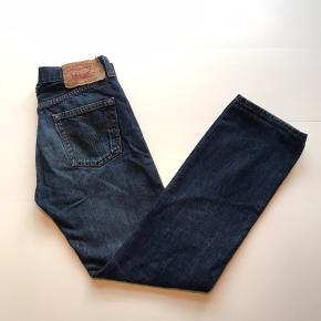 Vintage Levis 501 Jeans Mørkeblå Str 30/32  (Rigtig god stand)