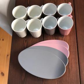 Sælger disse Rosendahl kopper.  Kopperne er sjældent blevet brugt og underkopperne er aldrig blevet brugt   200 kr for det hele.
