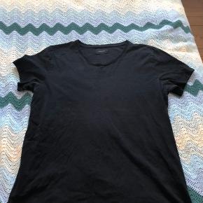 Helt almindelig sort t-shirt fra Samsøe & Samsøe
