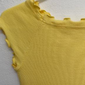Mads Nørgaard Throna bluse, gul, str. XS, aldrig brugt.