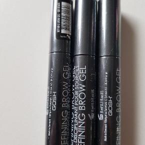 3 stk nye og uåbnede brow gel. 1 stk 15 kr