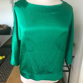 løs grøn ny bluse