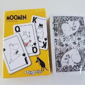 Mumi spillekort   Uåbnet   Moomin