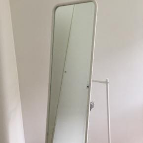 KNAPPER Gulvspejl, hvid48x160 cm