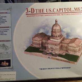 3-D puslespil af St. Peters Katedral og US. Capitol Aldrig brugt - stadig i indpakning. 50kr pr. stk. Kan hentes Kbh V eller sendes for 40kr DAO