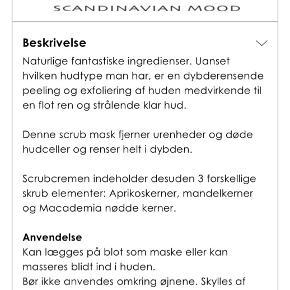 Tromborg exfoliating scrub mask, helt ny. Normalpris i butik 340 kr. Mp 150 kr. Ved køb af flere er prisen 135 kr/stk. Køber betaler porto. Kan afhentes i Brøndby eller Hvidovre.