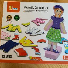 Magnetlegetøj Påklædningsdukke