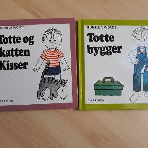 2 Totte bøger i pæn stand,  samlet 20kr