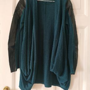 Blue green cardigan