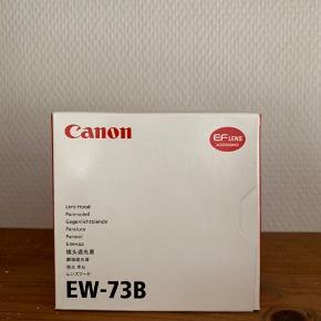 Sælger Canon EW-73B modlysblænde, som aldrig er brugt Passer EF-S 17-85mm f/4-5.6 IS USM og EF-S 18-135mm f/3.5-5.6 IS