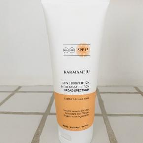 Karmameju Sun Body Lotion SPF 15. Ikke brugt.