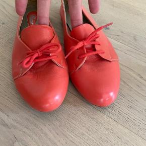 De lækreste sko i ægte og blødeste læder, aldrig blevet brugt. Købt i Italien