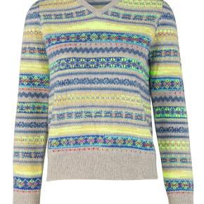 Mønstret sweater fra Mads Nørgaard💛 brugt én gang