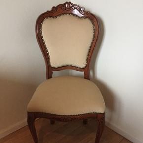 Smuk og velholdt salon stol