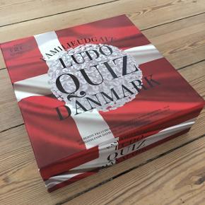 Ludo quiz Danmark, familie brætspil. Brugt få gange.